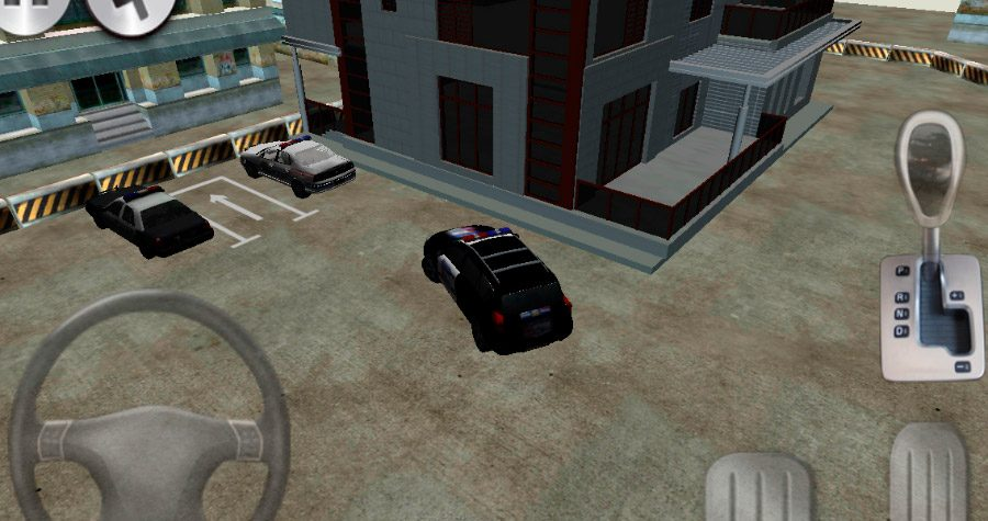 3D police car parking para Android