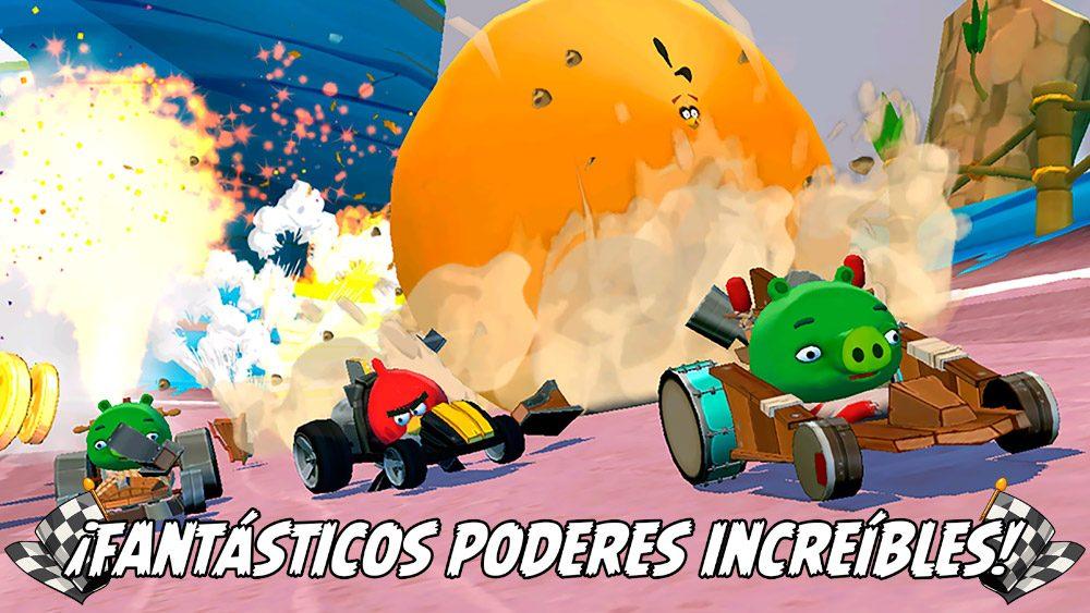 Angry Birds Go!, juegos de coches 3D