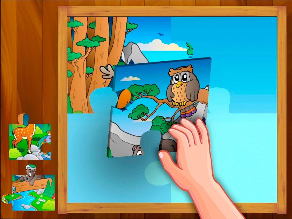Animal Puzzle Kids para tablets Android