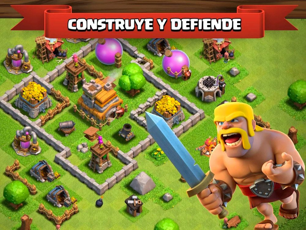 Clash of Clans, juego para Android