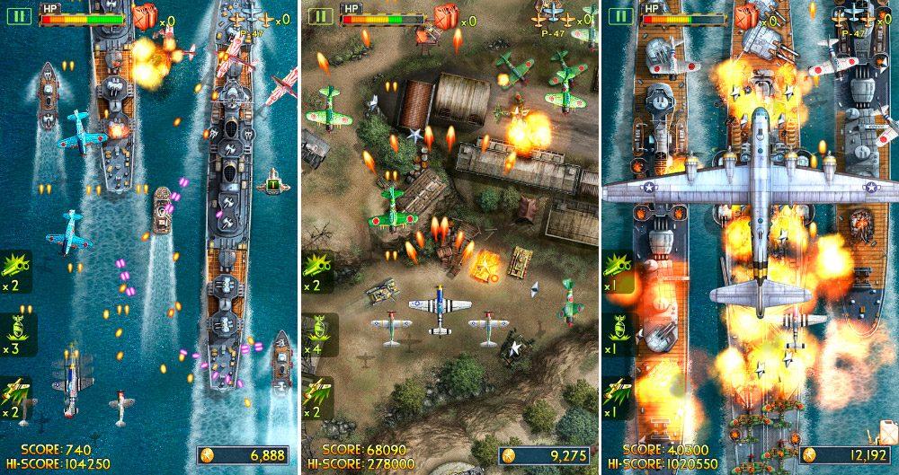 iFighter2, juego de aviones Android