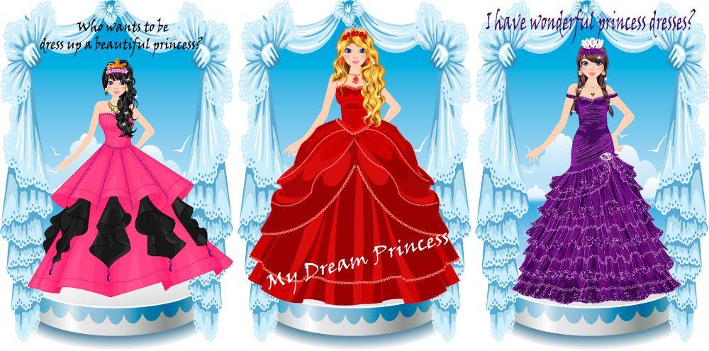 Juego Android Viste a la princesa