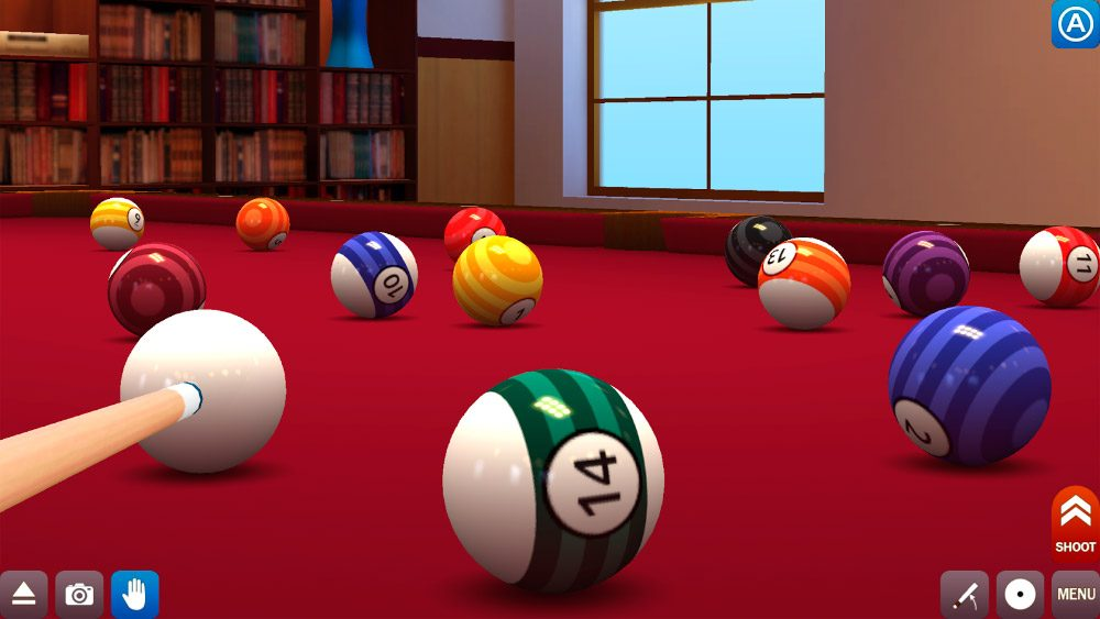 juego de billar d pool break