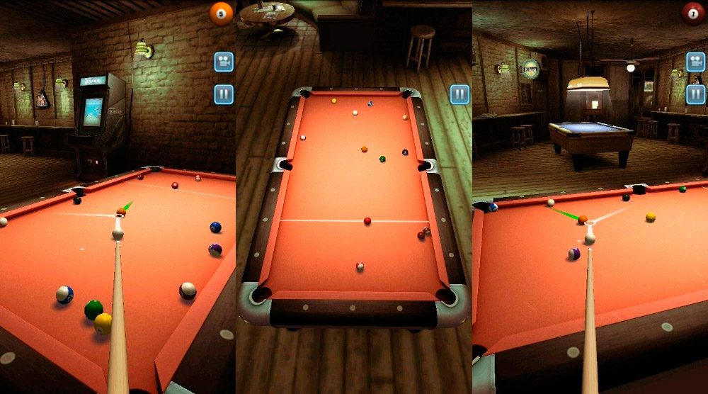 Juego de billar para moviles Pool Bar