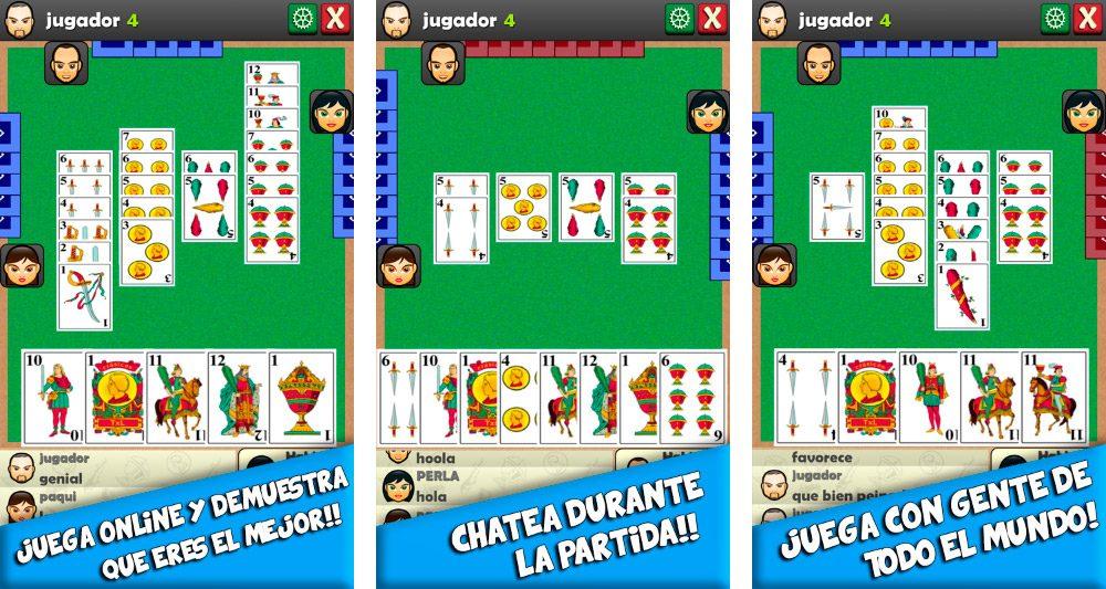 Juego de cartas Cinquillo Android