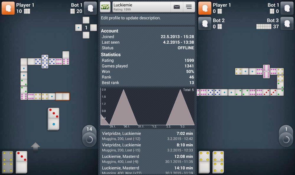 Juego de dominó Android