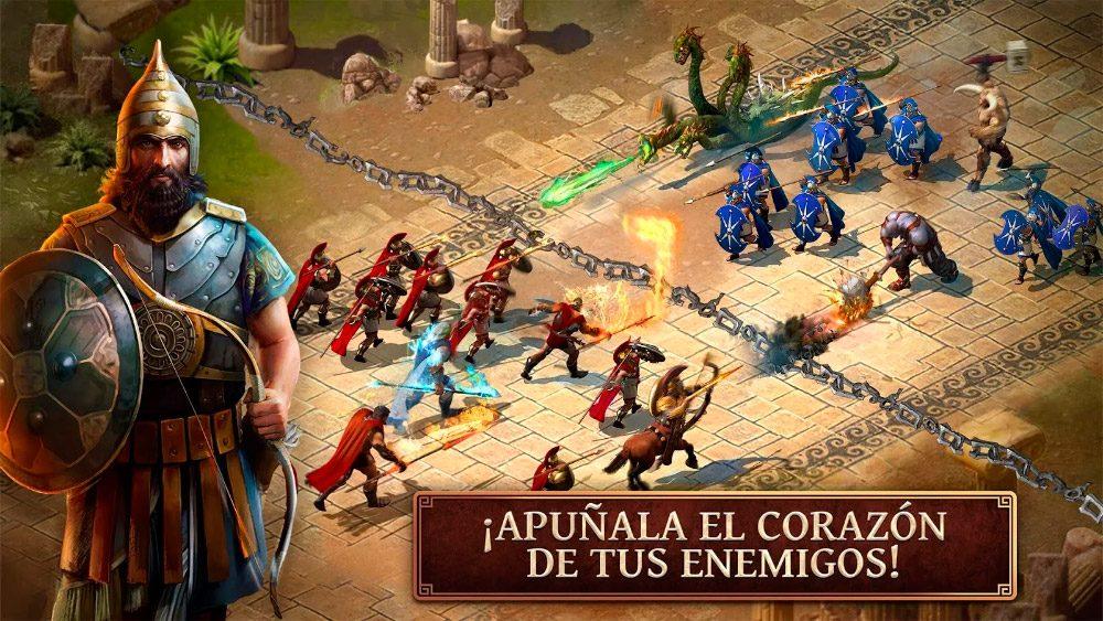 Juego de estrategia Age of Sparta