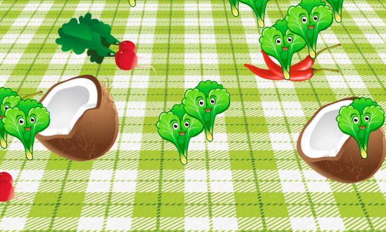 Juego de frutas y verduras para Android