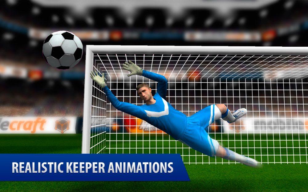 Juego de fútbol Android Flick Shoot