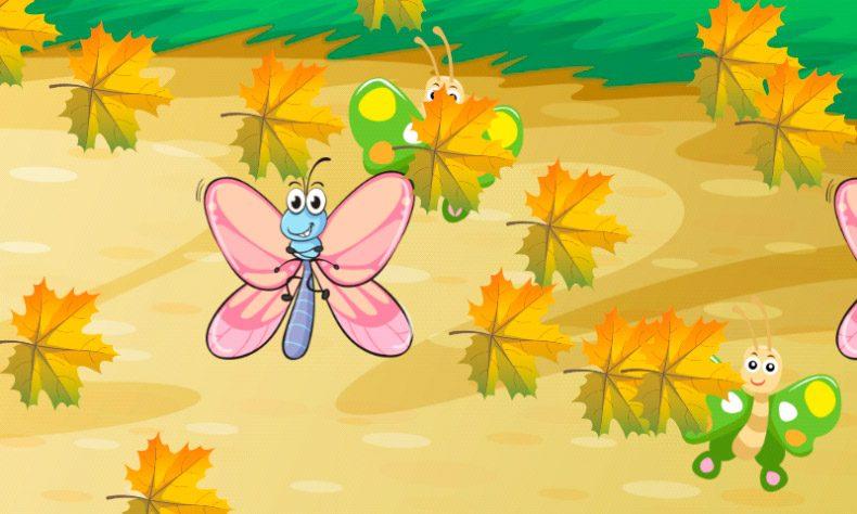Juego insectos para niños