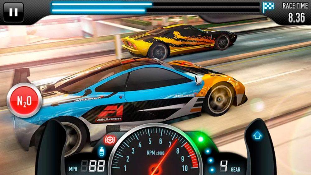 Juegos de carreras 3D CSR Racing