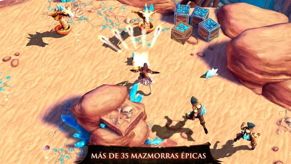Juegos de rol 3D Dungeon Hunter 4