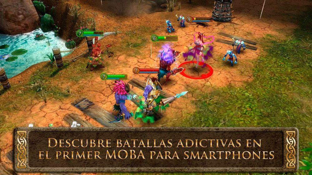 Juegos MOBA Heroes of Order & Chaos