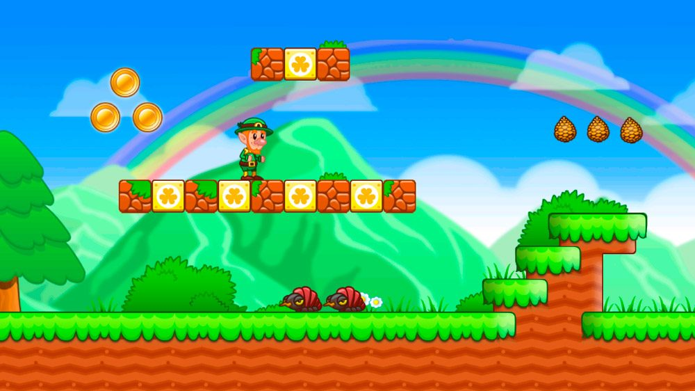 Lep´s World, juego Android de Mario Bros