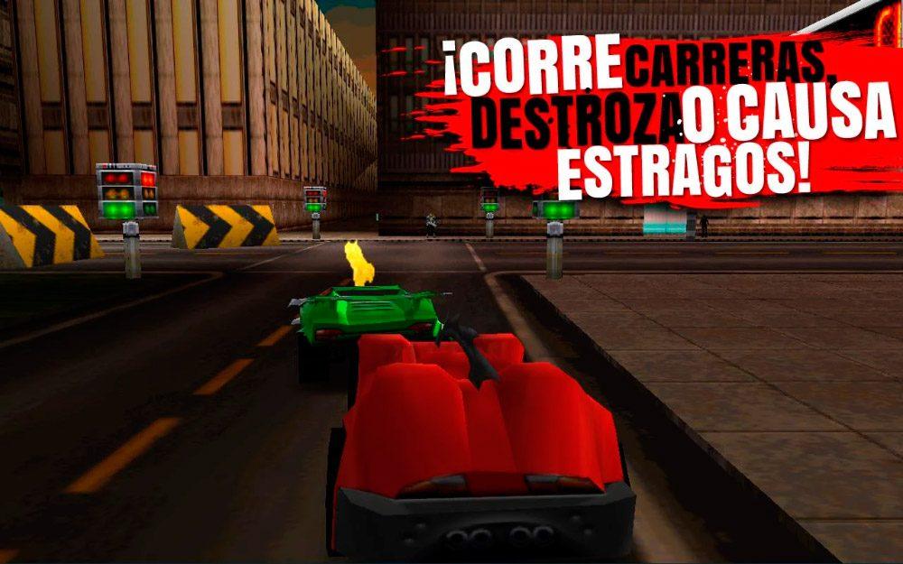 Mejores juegos 3D Android Carmageddon