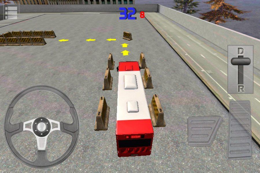 Mejores juegos de aparcar Bus Parking 3D