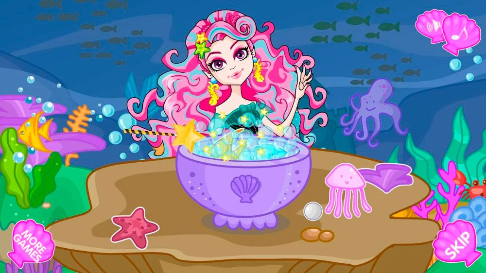 Mermaid For Monster High