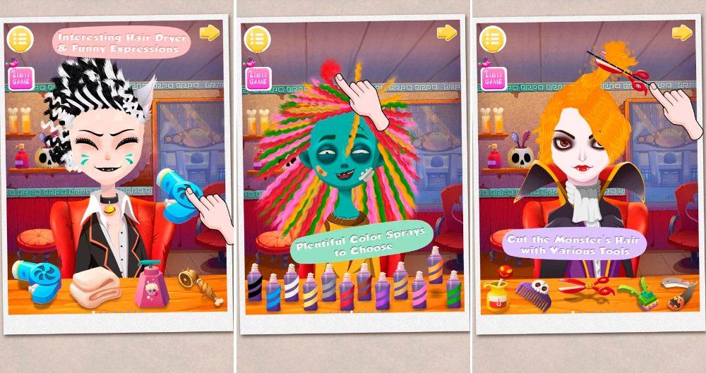 Monster Hair Salon para Android