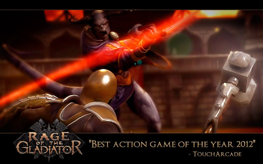 Rage of the Gladiator para Android