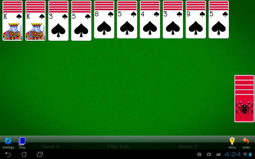 Spider Solitaire para Android