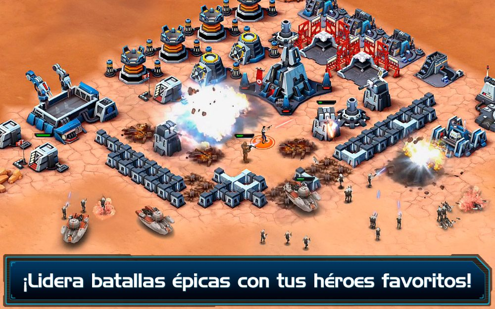 Star Wars: Commander versión Android