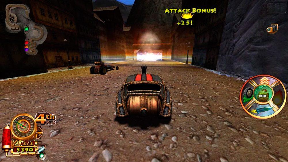 Steampunk Racing 3D juego de coches