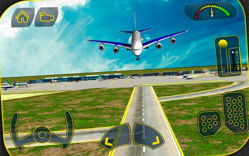 Transporter Plane 3D para moviles