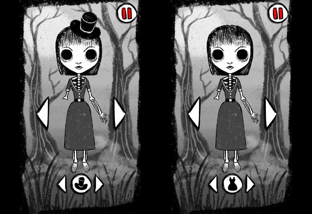 Vestir Zombies Chicas, juego para Android