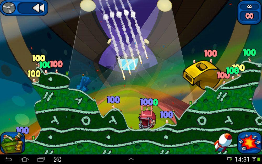 Worms 2: Armageddon en Android